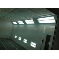 Wholesale Galvanized Steel Roof Home Auto Paint Booth For Cars , Vehicle Spray Booth from china suppliers