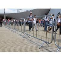 China Crowd Control Barriers Hot Dipped Galvanized One Male/Female Hook Barriers 1100mm x2300mm Barriers on sale