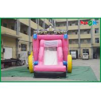 China 6 X 4m Commercial Childrens Bouncy Castle Hire Blow Up Bounce House on sale