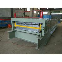 Wholesale Dipped Galvanized Iron Wall Panel Roll Forming Machine 380V 60HZ 10-12MPa Hydraulic Pressure from china suppliers