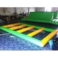 Wholesale Commercial Grade 0.9mm PVC Tarpaulin Inflatable Water Sports Game for summer playing from china suppliers