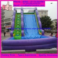 Wholesale Bouncy Castle Inflatable Toy Slide inflatable slip n slide of inflatable slide from china suppliers