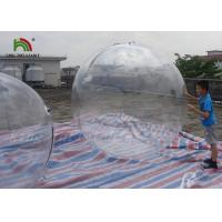 Wholesale 1.8m Clear PVC Inflatable Water Ball / Inflatable Water Walking Ball For Kids from china suppliers