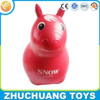 Wholesale kids custom design pvc inflatable jumping animal horse toy from china suppliers