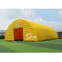China 20x10 meters outdoor movable sports arena giant inflatable tent with 2 doors on sale