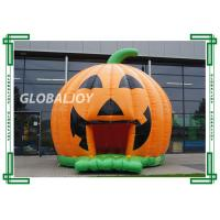 Wholesale Flame Retardant Kids Inflatable Bouncer House Halloween Pumpkin Bouncy Castle from china suppliers