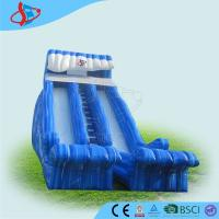 Wholesale Funny Blue Children Inflatable Swimming Pool Slide For Playground from china suppliers