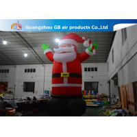 Wholesale Hot Selling Outdoor Giant Inflatable Santa Claus  Christmas Yard Decorations from china suppliers
