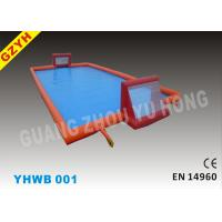 Wholesale 0.6mm Durable PVC Tarpaulin Soccer Pitch Outdoor Inflatable Water Pools YHWP-001 from china suppliers