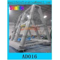 Wholesale 0.6 mm pvc tarpaulin inflatable water billboard for advertising from china suppliers