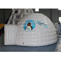 Quality Mini Inflatable Igloo Tent / Blow Up Igloo Tent Playhouse For Rental for sale