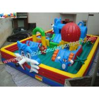 Custom Inflatable Amusement Park , Giant Inflatable Toys For Kids Play