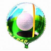 """Wholesale 18"""" Round Daddy's Day Balloon, Made of PA and PE and AL, Customized Orders Accepted from china suppliers"""