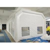 Wholesale Airtight Portable Paint Booth Tent 0.6 Mm PVC Tarpaulin Easy Installation from china suppliers