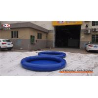 China Backyard Outdoor Inflatable Kids Swimming Pools Round For Home on sale