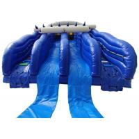 Wholesale 2019 water park giant inflatable bouncer slide with four 4 slides for kids adults from china suppliers