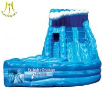 China Hansel  commercial grade inflatable water slides giant inflatable slide for sale on sale