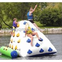Wholesale 0.9mm Durable PVC tarpaulin Inflatable Iceberg YHIB 004 with durable anchor from china suppliers