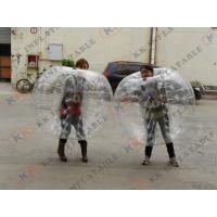 China Funny Inflatable bumper ball body zorb ball bubble ball with PVC / TPU material on sale