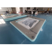 Wholesale Double Wall Fabric Floating Ocean Sea Swimming Pool Inflatable Yacht Pool from china suppliers