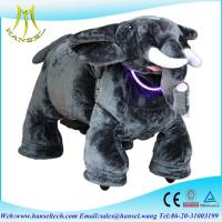 Wholesale Hansel electrical ride-on toy animal ride motorized plush riding animals from china suppliers