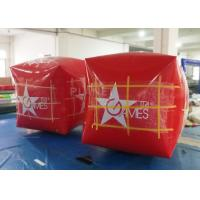 Quality Square Inflatable Marker Buoy , Floating Marker Buoys Apply To Ocean for sale