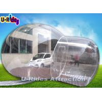 China Outdoor Inflatable Lawn Tent Bubble Pvc Tarpaulin Transparent Camping Tent on sale