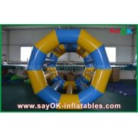 Wholesale Yellow / Blue Funny Rolling Inflatable Water Toys Inflatable Pool Toys For Water Park from china suppliers