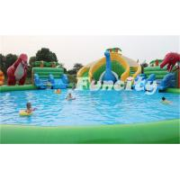 China 0.9MM Thickness Inflatable Amusement Park PVC Tarpaulin Giant for Sports Games on sale