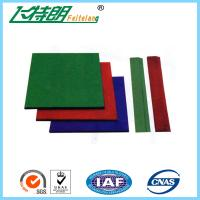 Wear Resistance Outdoor Playground Rubber Tiles , Safety Kids Floor Pads