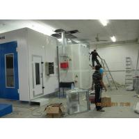 Wholesale Centrifugal Fan Car Paint Chamber , Car Oven Spray Booth Color Optional from china suppliers