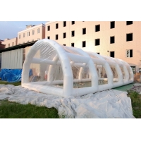 Wholesale 12*6m Airtight Clear Inflatable Pool Bubble Dome , Waterproof Pool Dome from china suppliers