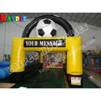 Wholesale Football goal,inflatable football shooter from china suppliers