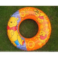 China Lovely Printed Baby Inflatable Swim Ring Safe , Infant Swimming Floats on sale