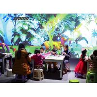 China AR Interactive Projector Games For Painting Magic Forest 1-8 Players Scanner on sale
