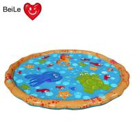 Wholesale Popular 0.23mm PVC material inflatable baby water play mat from china suppliers