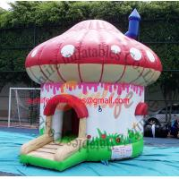Buy cheap inflatable Mushroom bouncer castle BO158 from wholesalers