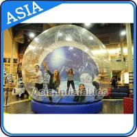 China Human Inflatable Bubble Tent Xmas Inflatable Snow Globe EN - 71 on sale