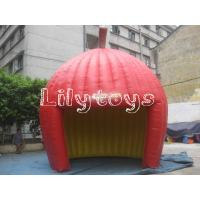 China Red PVC Large Inflatable Tent For Trade Show  , Adults Inflatable Igloo Tent on sale