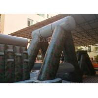 Quality Giant Inflatable Obstacle Course 0.55 Mm PVC Tarpaulin For Entertainment for sale