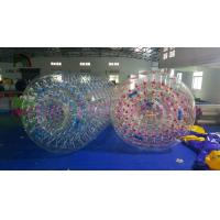 Wholesale Exciting Inflatable Water Toys Walk On Roller Ball Of 1.0mm Transparent PVC from china suppliers