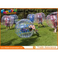 Wholesale TPU Human Size Inflatable Soccer Ball Giant Inflatable Bubble Inflatable Ball from china suppliers