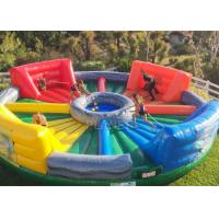 Quality Giant Inflatable Sports Games Human Hungry Hippo Chow Down 6 M Diameter for sale