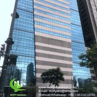 Wholesale Metal aluminum panel curtain wall aluminum solid panel facade cladding for facade covering from china suppliers