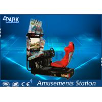 Quality 32 Inch HD LCD Screen Racing Game Machine Stereo System For Entertainment for sale