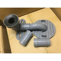 Wholesale Gray PVC Toilet Siphon Tube , Toilet Drain Fittings Washroom Appliance Connector from china suppliers
