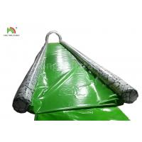 Wholesale Green Single Lane 15 m Long Inflatable Water Slide For Adults Customized Size from china suppliers