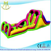 Wholesale Hansel inflatable bouncer obstacle kids inflatable adventure run for sale from china suppliers