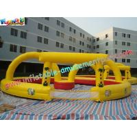 Wholesale PVC Inflatable Sports Games Race Track , Inflatable Car Race Track from china suppliers