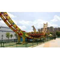 Wholesale Saucer Disco Flying UFO Rides , Roller Coaster Thrill Rides 25 * 10 Meter from china suppliers